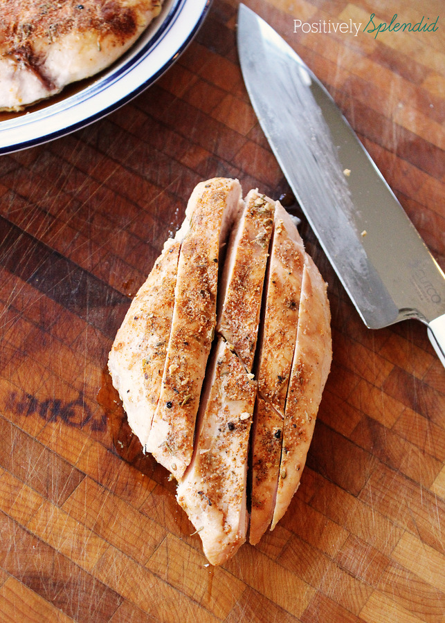 The very BEST chopped chicken for casseroles, soups, salads and more. So easy and delicious!