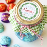 Mason Jar Mothers' Day Gift with Free Printables #SharetheDOVE