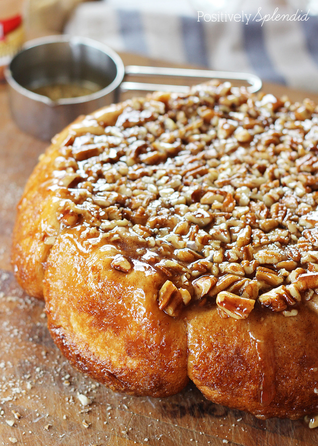 These Easter morning sticky buns bake up with an empty center--just like the empty tomb!