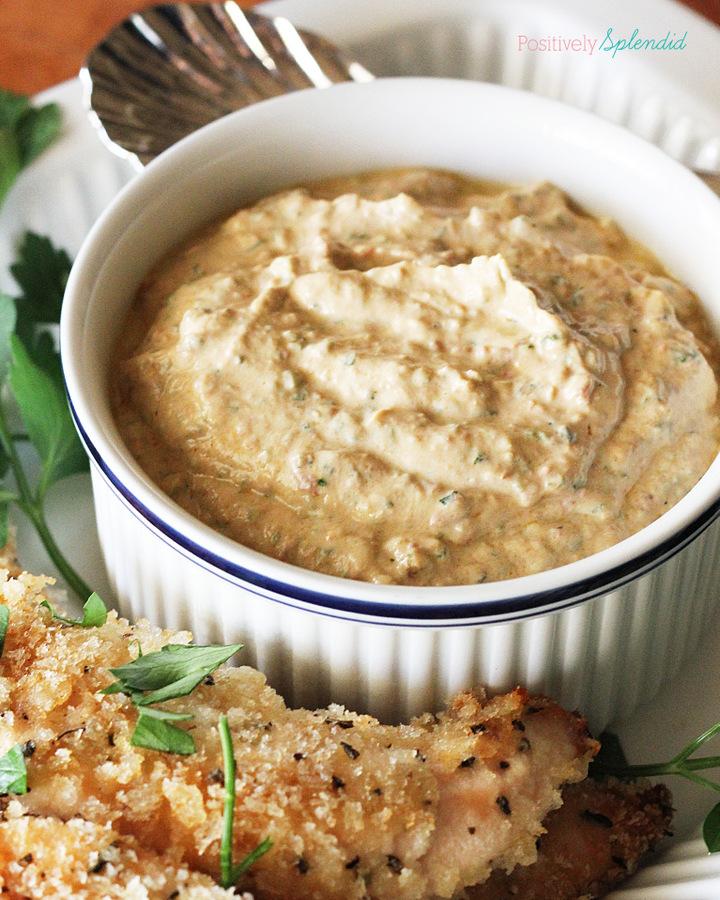 Creamy Greek Yogurt and Pesto Dip. Easy, healthy and delicious!