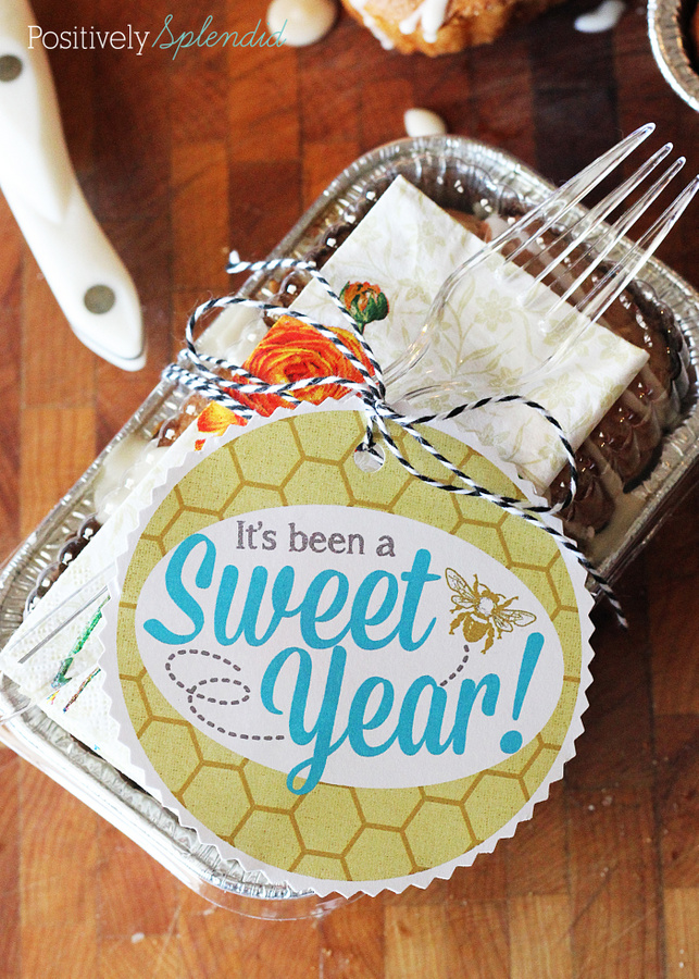 """""""It's been a sweet year"""" free printable gift tags. Perfect for teacher gifts!"""