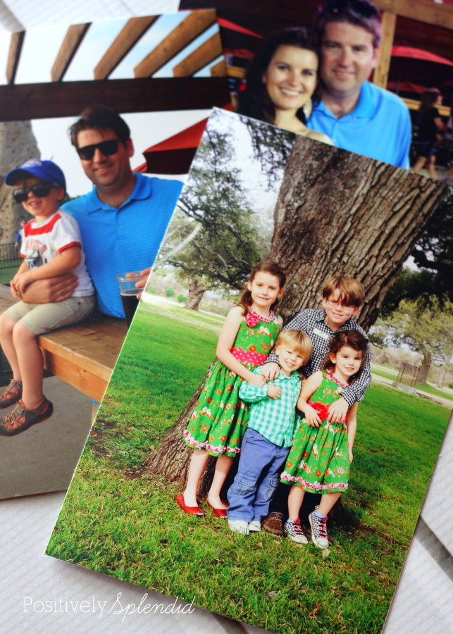 Photos printed with the HP Envy 5530 printer. #HPFamilyTime