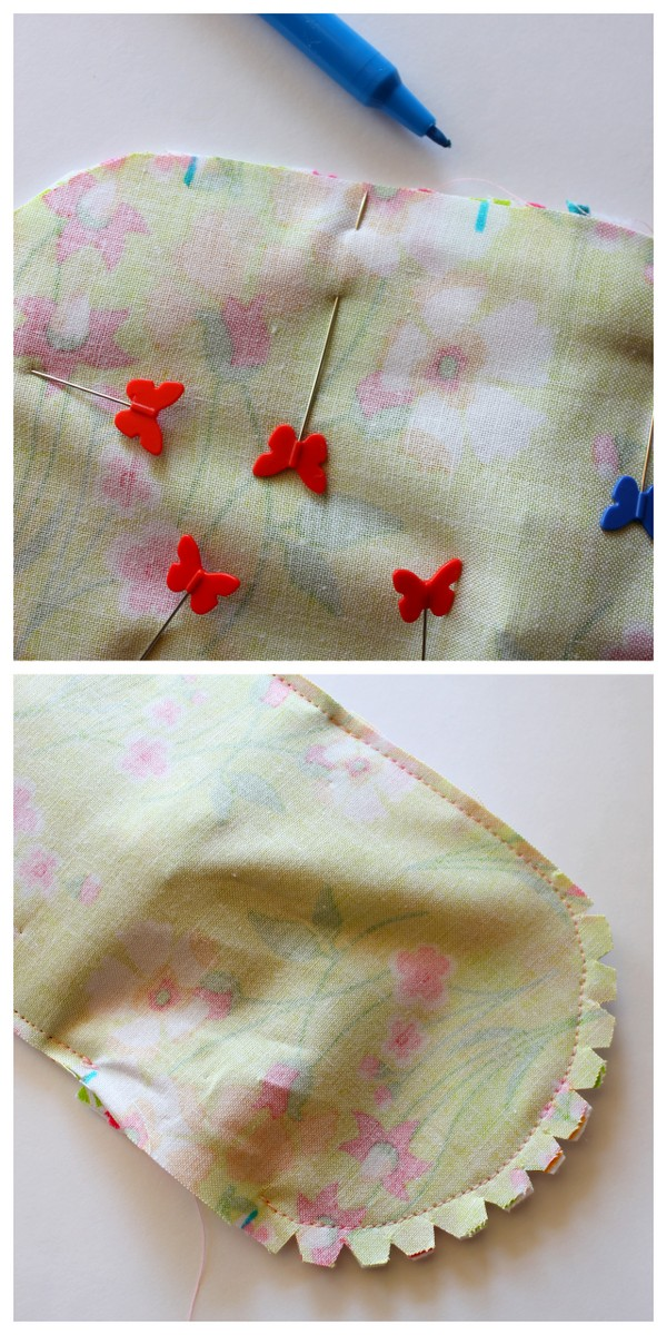 Hanging phone charger holder sewing tutorial. Such a smart idea!