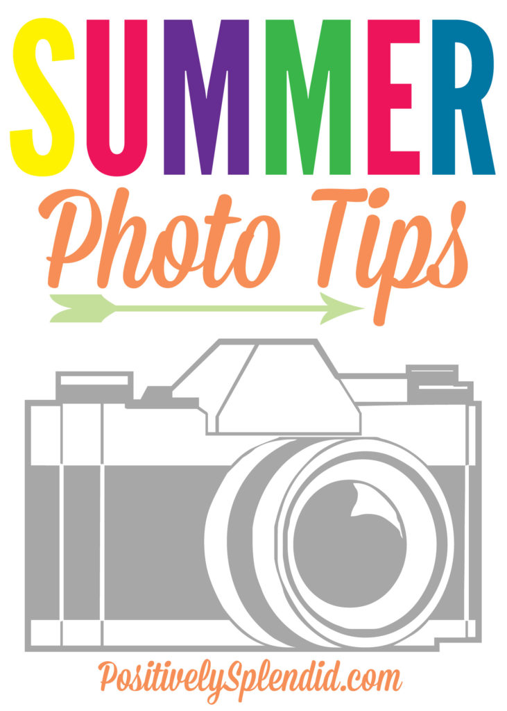 Tips for capturing GREAT summer family photos. #HPFamilyTime