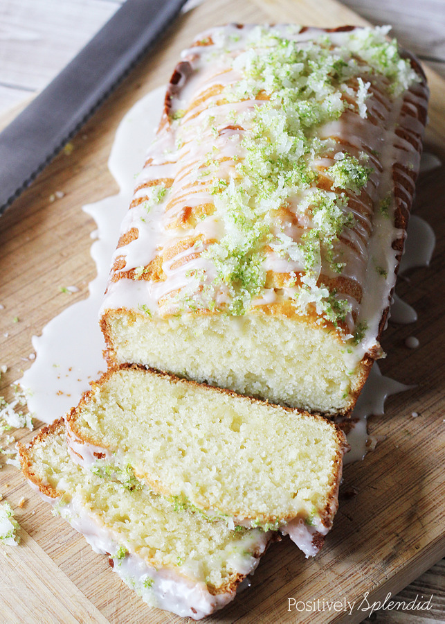 Citrus Tea Bread at Positively Splendid. The zest and sugar topping is so pretty, and delicious, too!