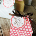 Life is Sweeter Printable Gift Tags #GiveBakery