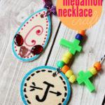 Medallion Necklace Kids' Craft