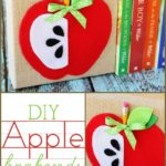 DIY Apple Bookends #MichaelsMakers