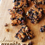 The Perfect Chewy Granola Bars
