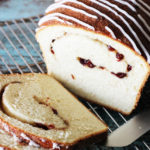 Cranberry-Orange Swirl Bread Recipe. A wholesome, homemade version of the store-bought swirl bread my family loves! #recipes #food #baking #bread