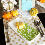 DIY Fall Tablescape #TulipForYourHome