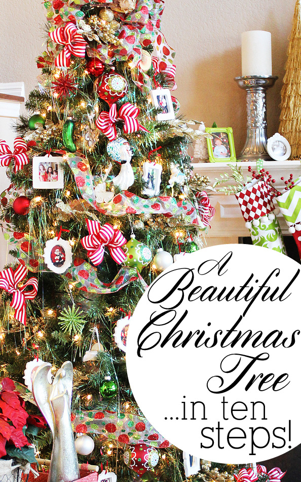 how to decorate a beautiful christmas tree in 10 easy steps michaelsmakers