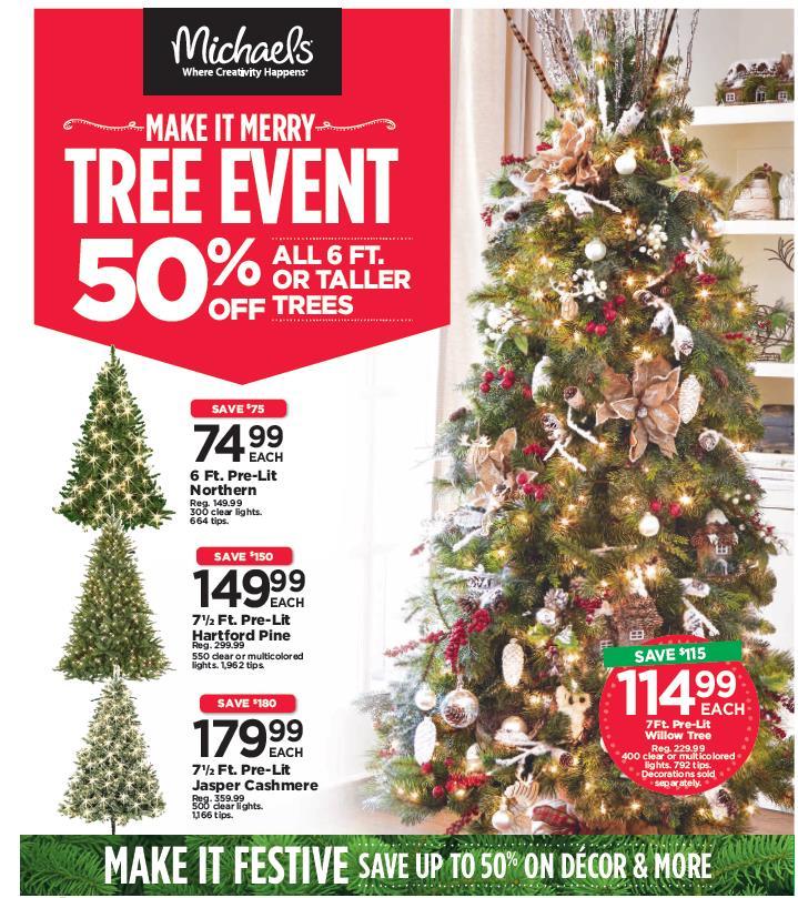 Tree event creative