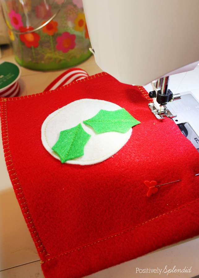 DIY reusable gift bags. So easy to make! #MichaelsMakers