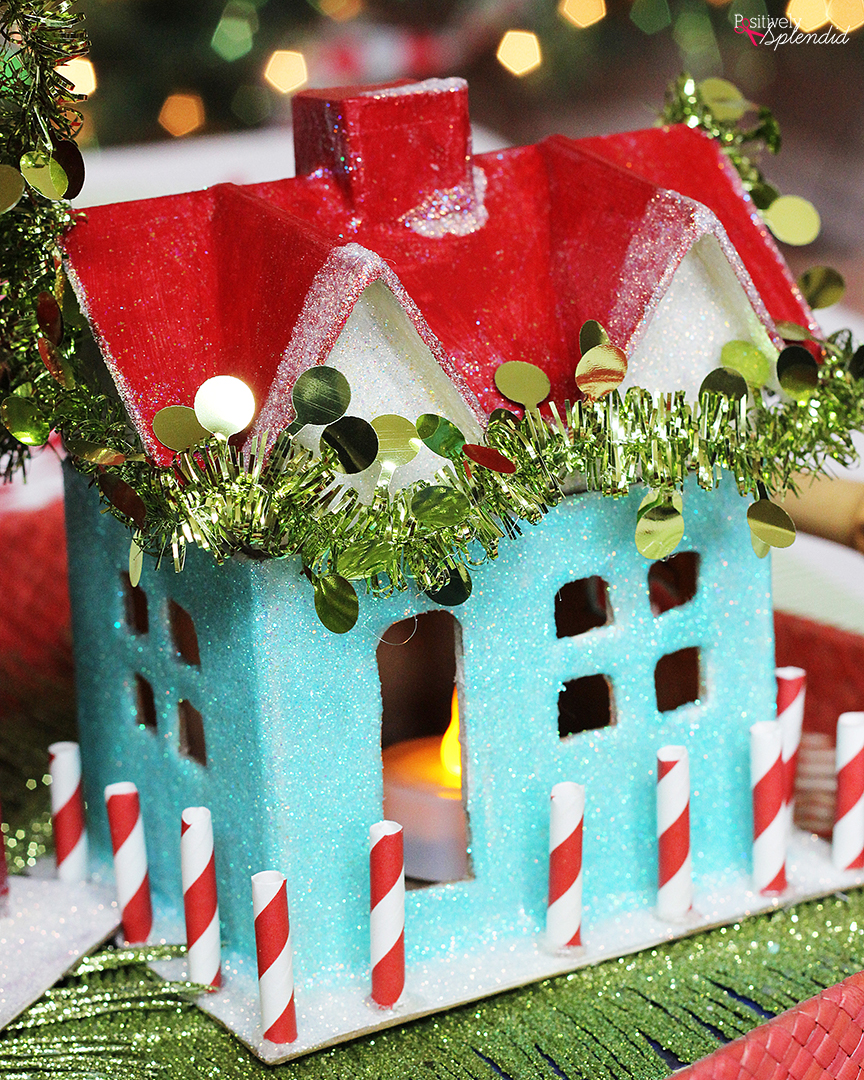 DIY Miniature Holiday Houses