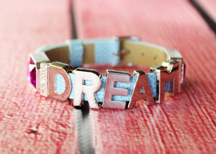 Easy slide charm bracelets
