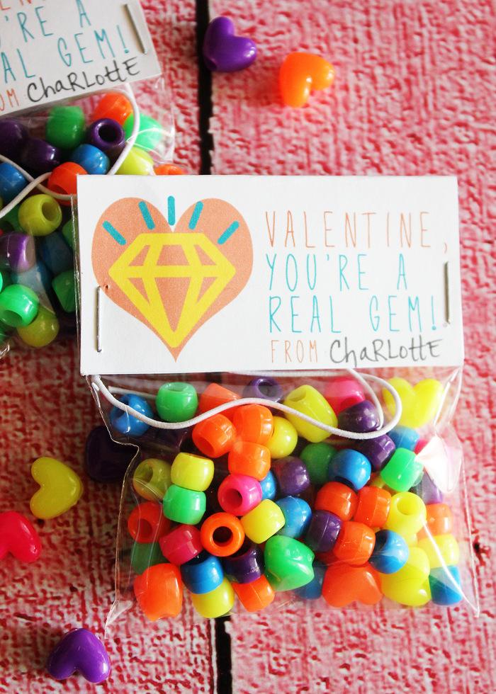 Printable Gem Valentines 2