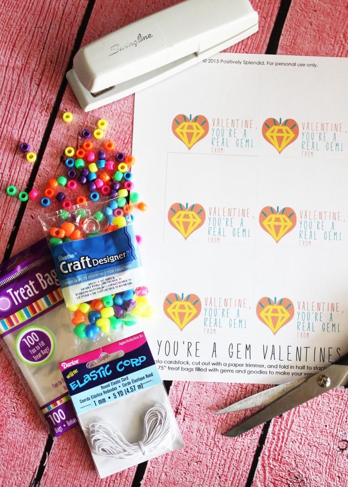 Printable Gem Valentines 9