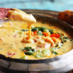 Delicious Veggie Queso Recipe at Positively Splendid #QuesoforAll