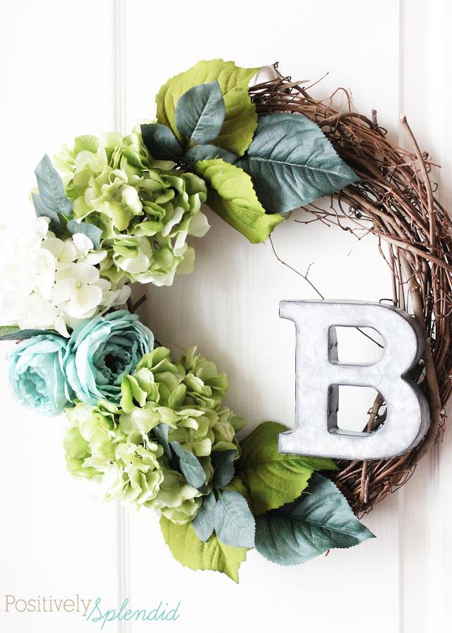floral spring wreath - Wreath Ideas