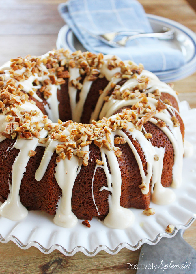 Vanilla Bundt Cake From Scratch