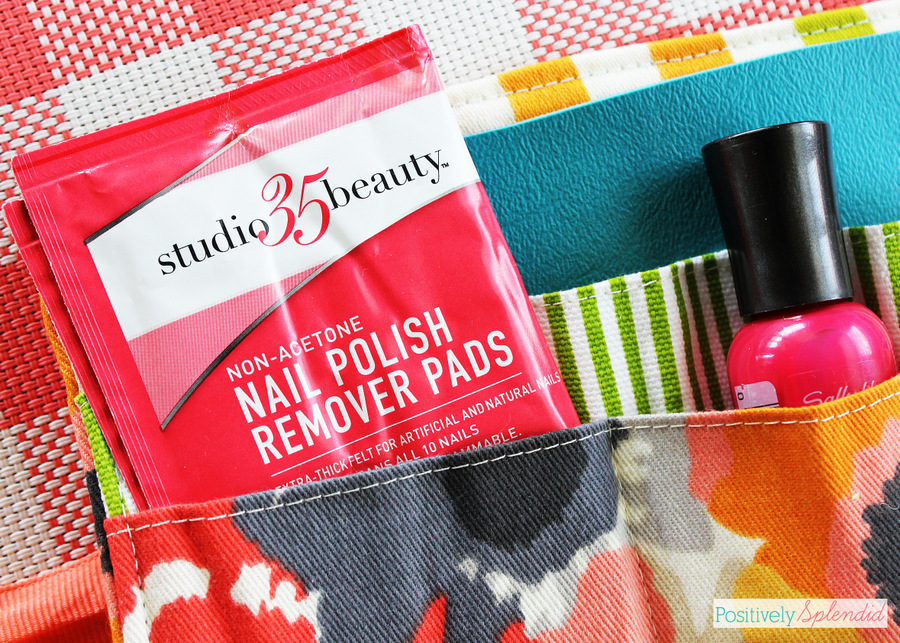 Travel Manicure Kit Sewing Pattern and Tutorial