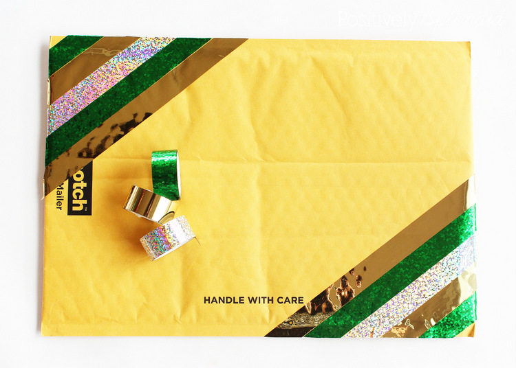DIY Embellished Mailing Envelopes #MakeAmazing