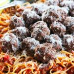 Easy Baked Meatball Recipe