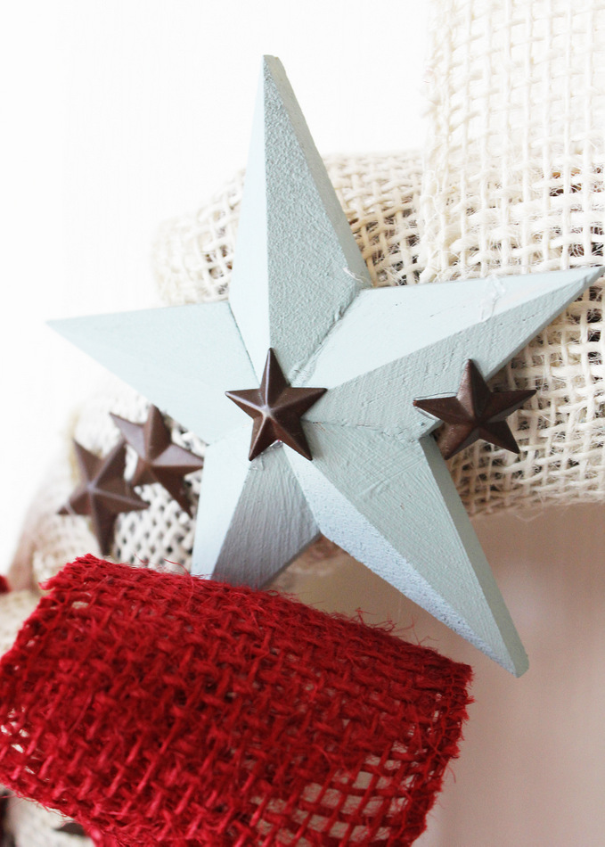patriotic star wreath 3