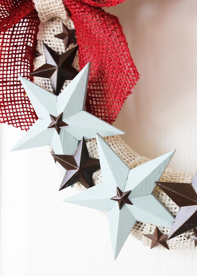 patriotic star wreath 4