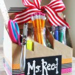 School Supply Teacher Gift Idea #MakeAmazing