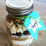Cranberry White Chocolate Jar Cookie Mix #MakeAmazing