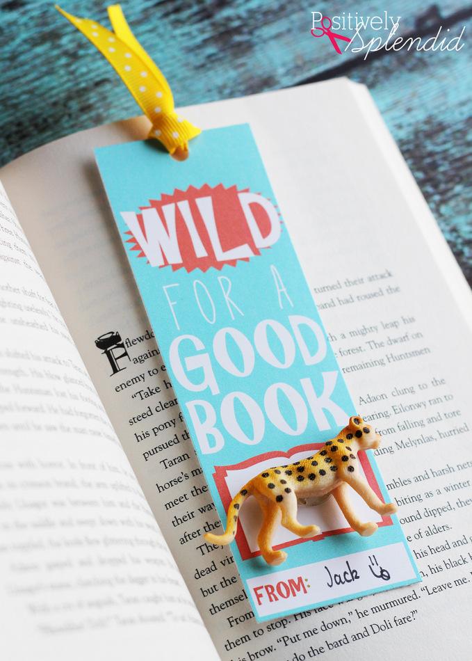 Wild for a Good Book Printable Bookmarks at PositivelySplendid.com