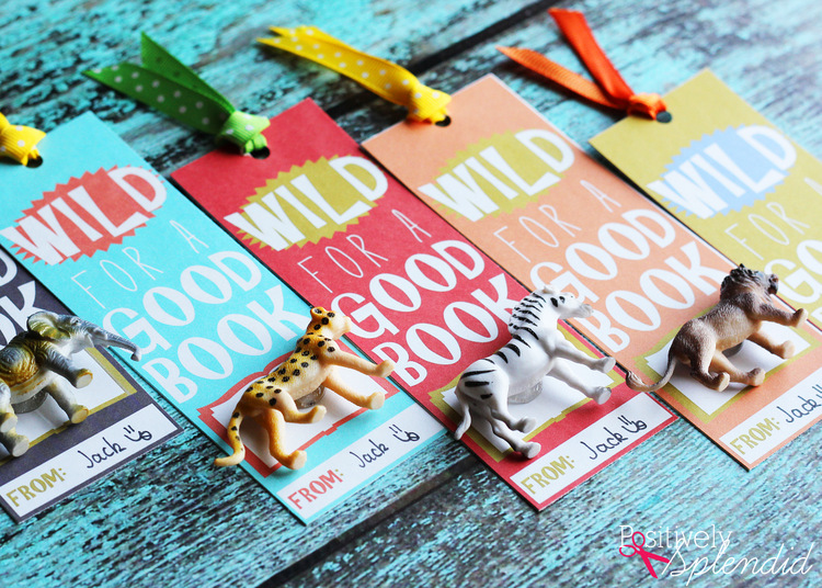 Wild for a Good Book Printable Bookmarks at PositivelySplendid.com