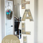 DIY Barnwood Fall Sign