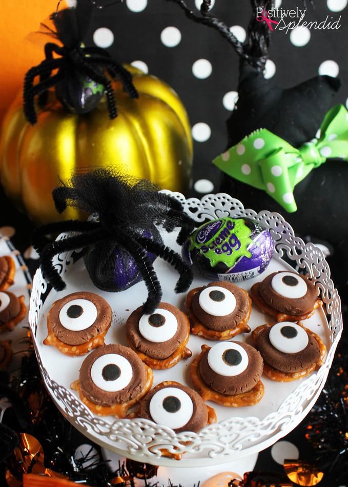 Easy and Fun Kids' Halloween Party Ideas #HersheysHalloween