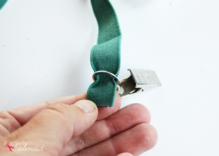 How to make DIY elastic suspenders #MichaelsMakers
