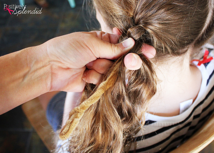 How to do Pippi Longstocking hair - step-by-step tutorial. #MichaelsMakers