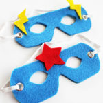 Easy No-Sew Superhero Mask #MakeAmazing