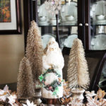 Elegant Christmas Table Centerpiece #AtHomeforChristmas
