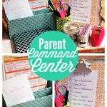 Organizing Idea: Parent Command Center #MichaelsMakers