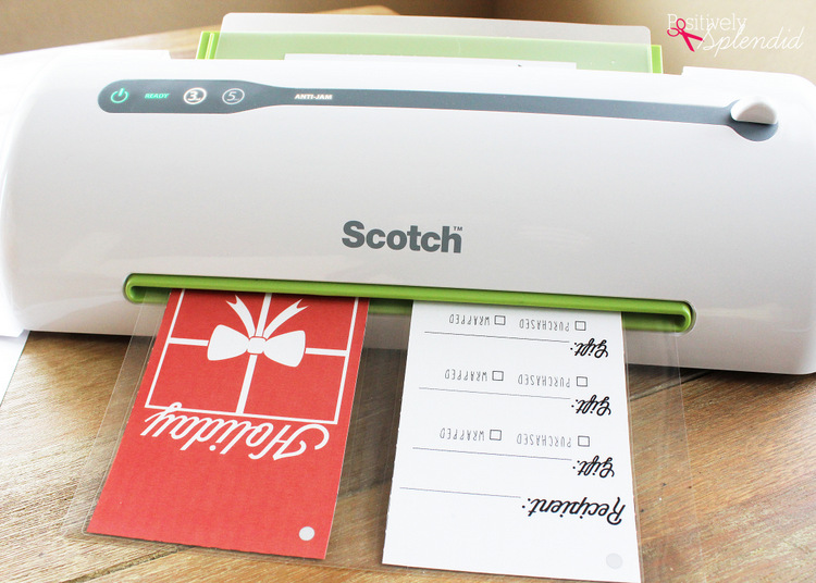 Reusable Gift Organizer with Free Printables #MakeAmazing