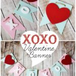 XOXO Banner Valentine Craft