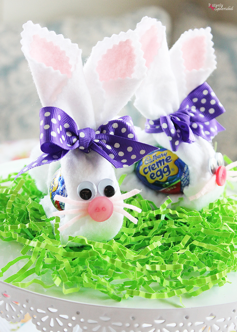 Felt Cadbury Bunny Easter Craft Idea - Perfect for Easter ...