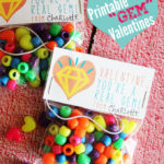 Bracelet Kit Valentine's Day Idea with Free Printable Bag Topper at Positively Splendid