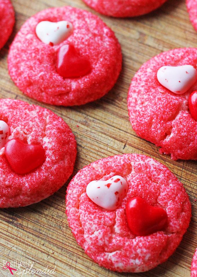 valentine cake mix cookies 1