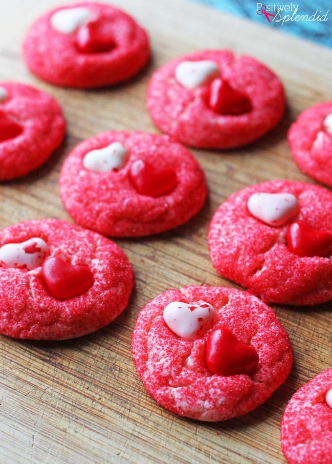 valentine cake mix cookies 3