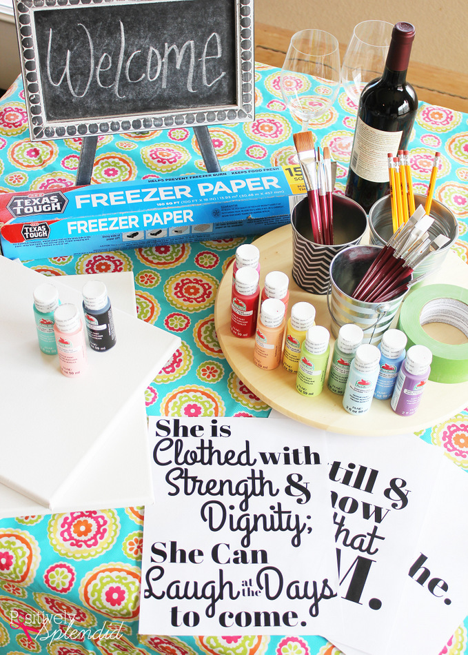 Host A Canvas Painting Birthday Party