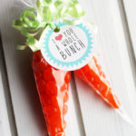 Jelly Bean Carrot Treat Bags