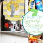 7 Must-Do Spring Cleaning Tips for Families with Kids #HEBSpringCleaningTips
